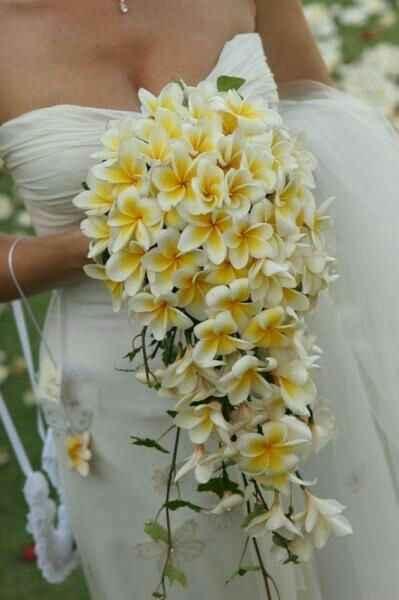 Bouquet mariée fleurs exotiques - 1