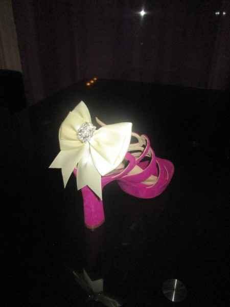 Mes chaussures customisées