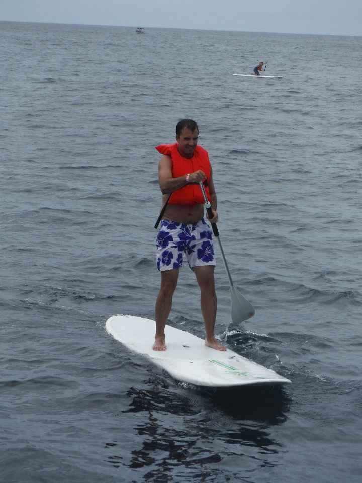 paddle board aux Mariettas