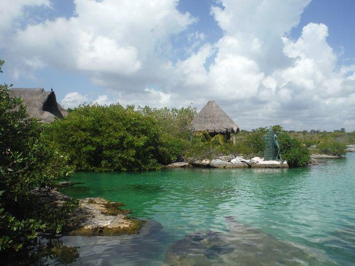 Lagune de yal ku