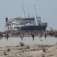 débarquement à Balos