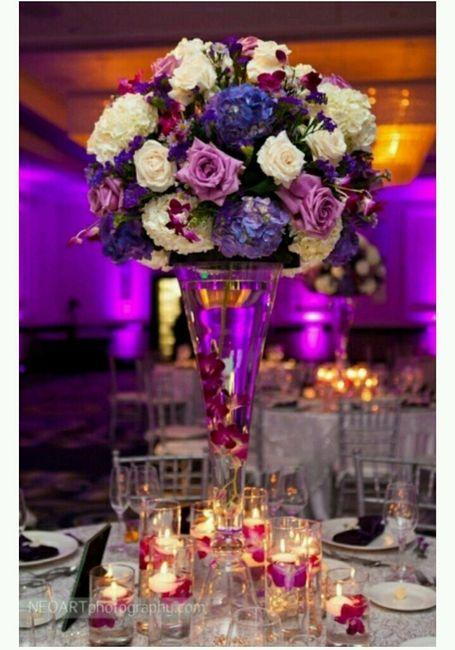 Le post des centres de tables hauts (fleurs) - 1