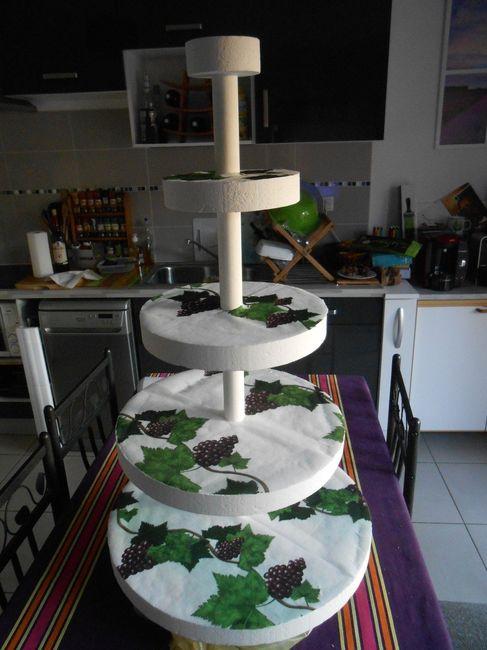 Pi ce mont e diy photo d coration for Piece montee decoration