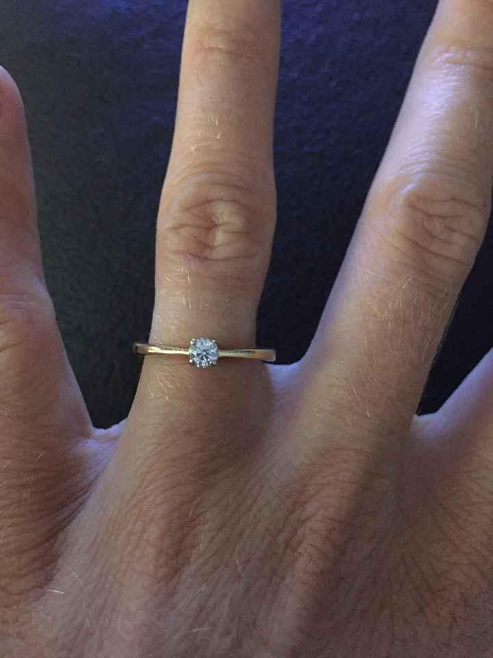 Montrez-moi votre bague de fiançailles 😍 - 1