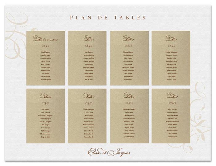 plan de table organisation du mariage forum. Black Bedroom Furniture Sets. Home Design Ideas