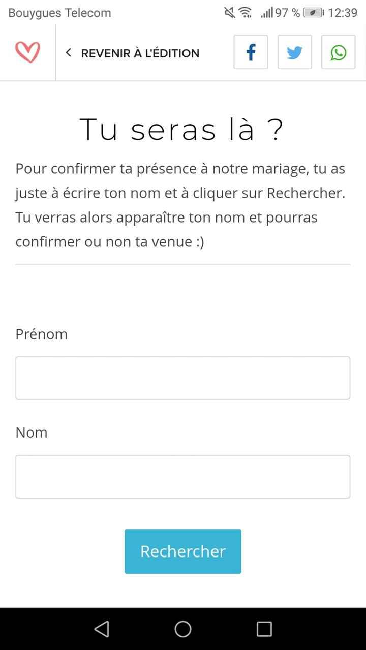 Site web mariage.net 1