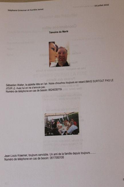 page 9 présentation de témoins de monsieur