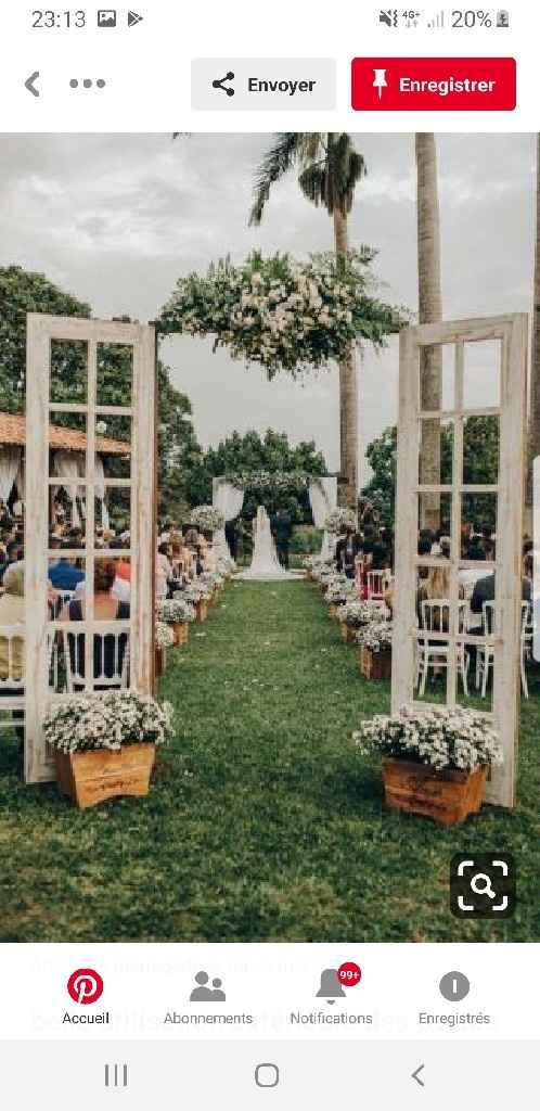 Comment tenir les portes pour arche de cérémonie laïque - 1
