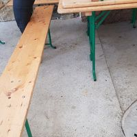 Idée pour décorer les pieds des bancs - 1