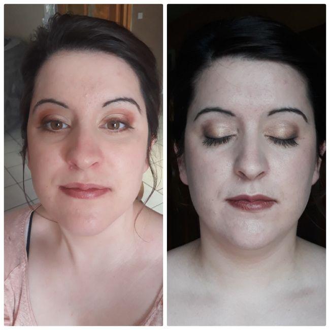 Essai Coiffure et Maquillage. - 1