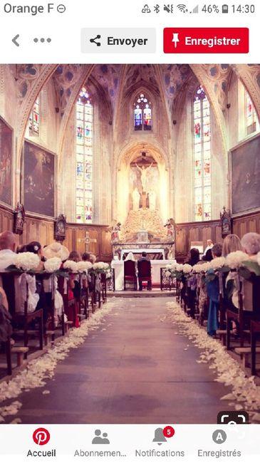 Décoration de l'église. - 1