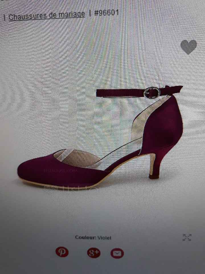 Chaussures dilemme. - 2