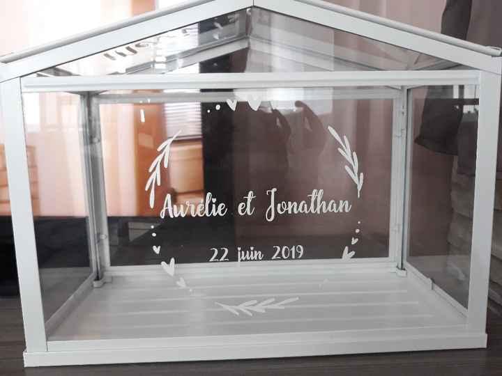Notre urne mini serre 😍 - 1