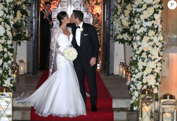 Mariage du joueur de foot Frank Lampard