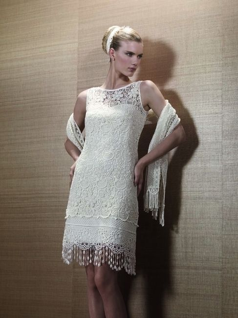 robe mariage ann es folles 2 photo. Black Bedroom Furniture Sets. Home Design Ideas