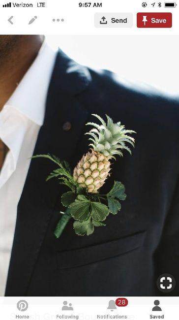 Inspiration Boutonnières pour nos mariés 9