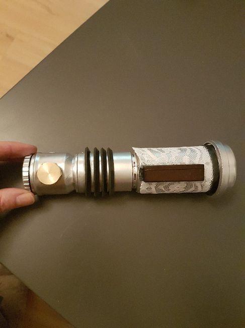 Manche de sabre laser fini ! 6