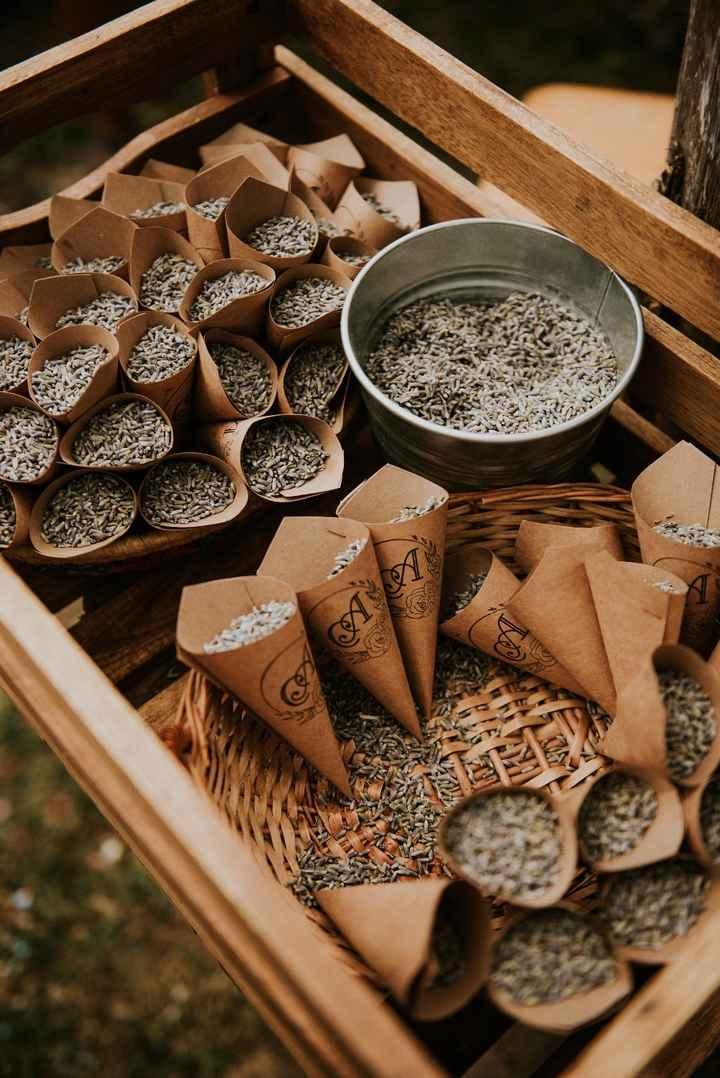 La lavande à jeter sur les mariés en fin de cérémonie