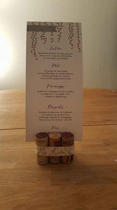 Essai menu