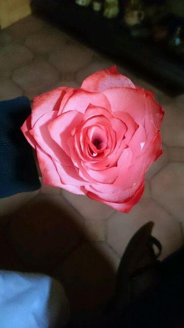 Tutoriel Rose en filtre à café pour boule - 1
