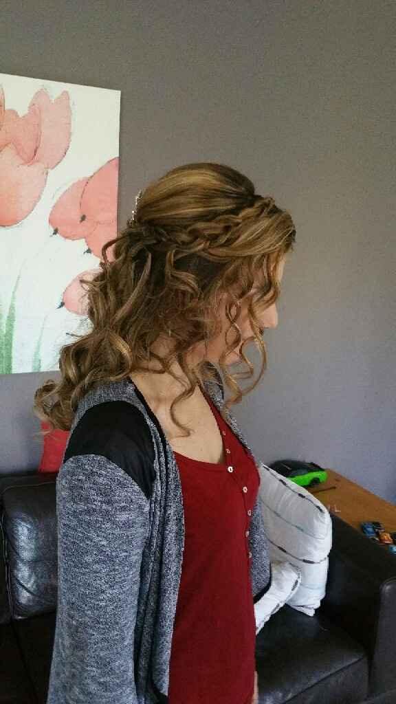 Essais maquillage coiffure et robe! - 1