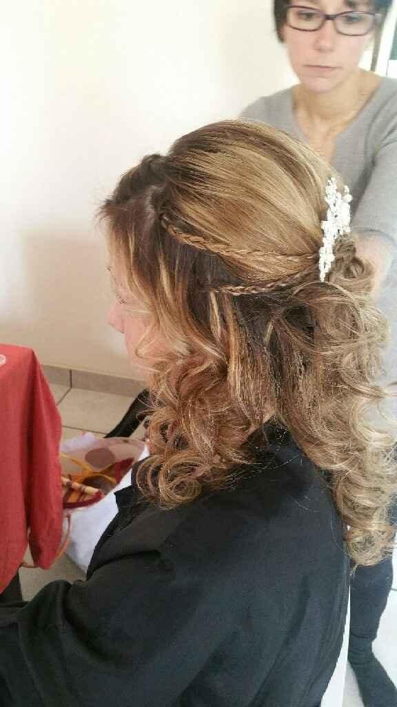 Essais maquillage coiffure et robe! - 2