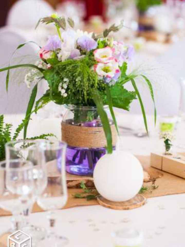 Idee bouquets table