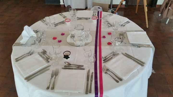 Rubans table rondes - 2