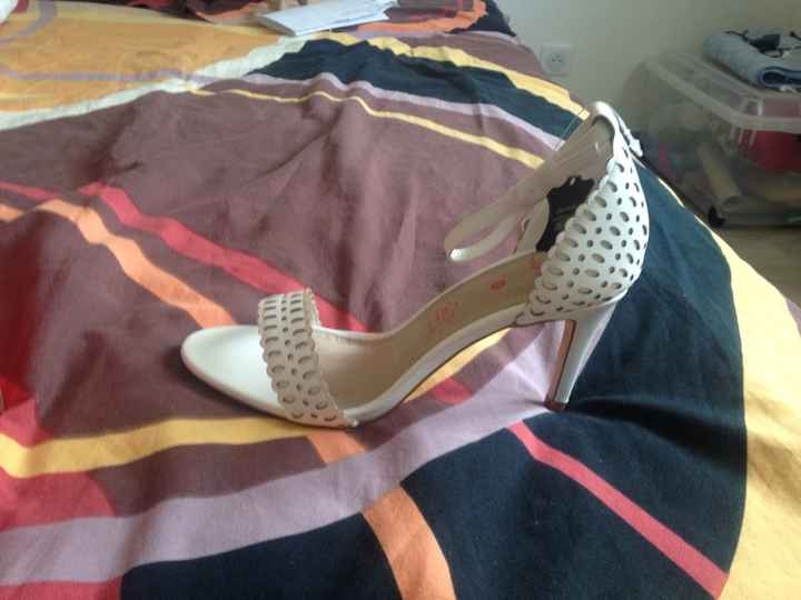 Chaussures de mariée .. dites-moi tout ! - 1