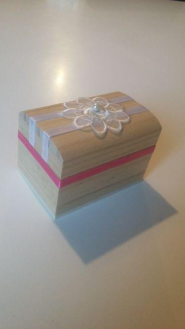 Customisation boîte pour alliances