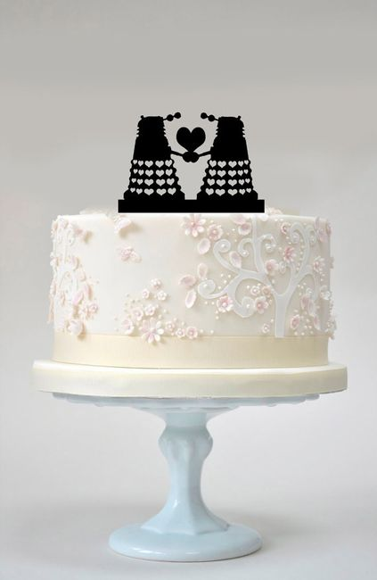 Dalek Wedding Cake Topper