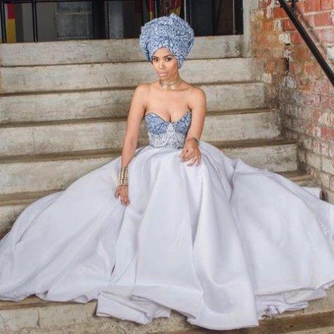 Inspiration Africaine La Robe De Mariée Mode Nuptiale
