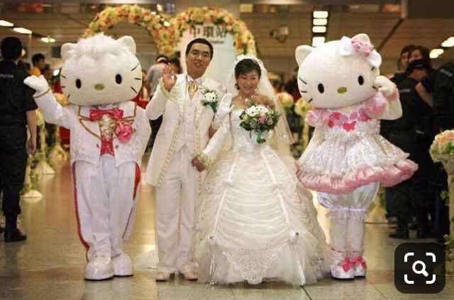 Mariage Hello Kitty - 6