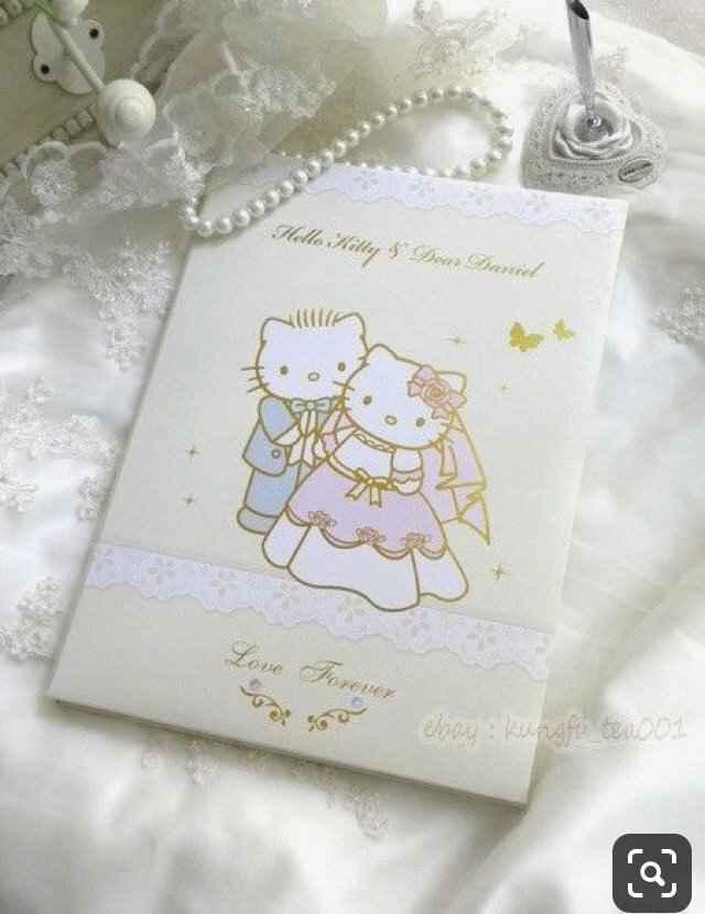 Mariage Hello Kitty - 7