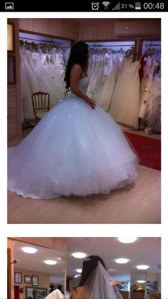 Mon portrait chinois de mariage - La robe de mariée - 1