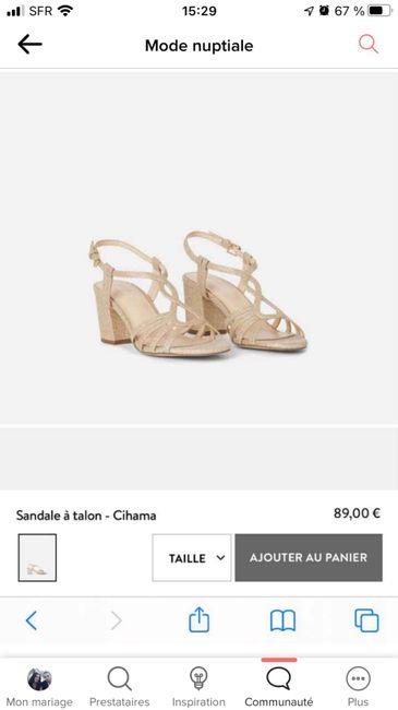 Chaussures pailletées et robe sirène 1