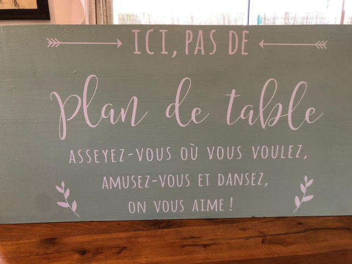 Montrez moi vos plans de tables 5