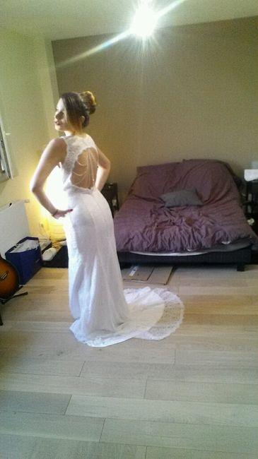 Photo de votre robe de mariée achetée sur internet - 2