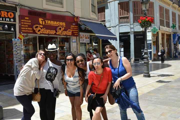 Les girls à Malaga