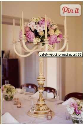 Fleurs sur chandeliers - 1