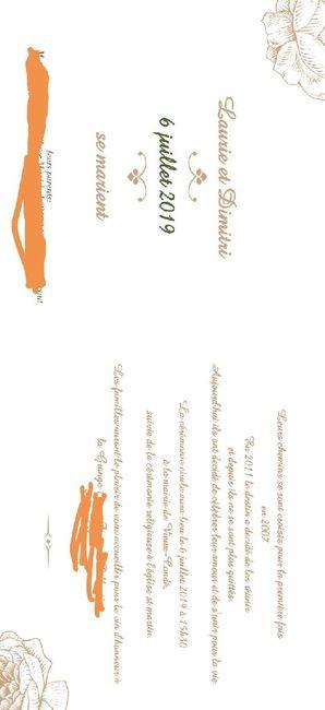 Invitation vin d'honneur uniquement 2