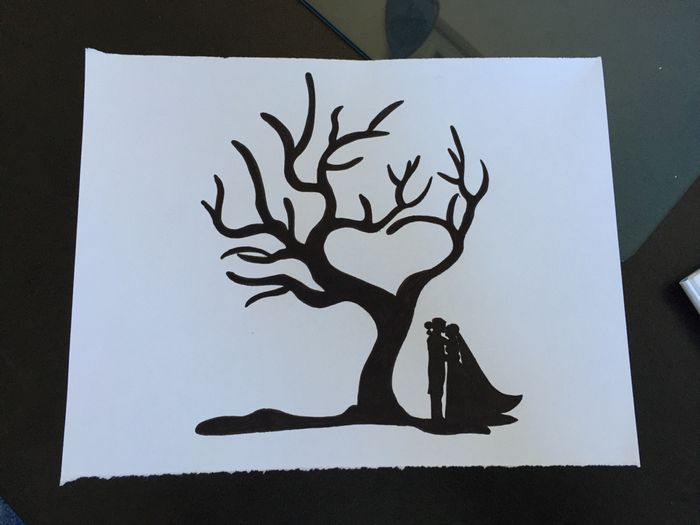 arbre empreinte imprimer d coration forum. Black Bedroom Furniture Sets. Home Design Ideas