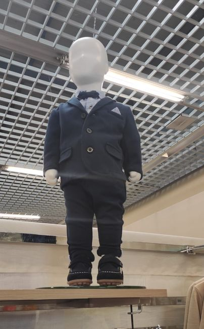 Costume bébé garçon - 1
