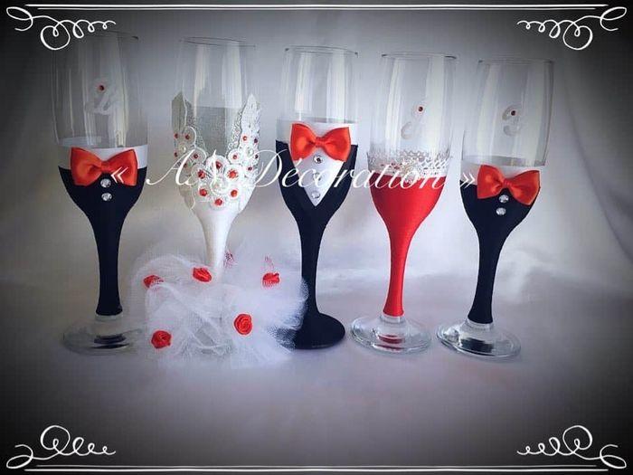 Coupes de champagne personalisée 2