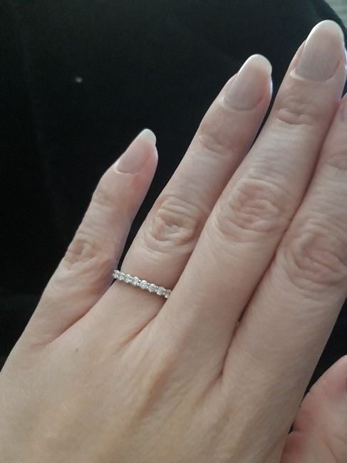 Qui porte une bague de fiançailles ? 13