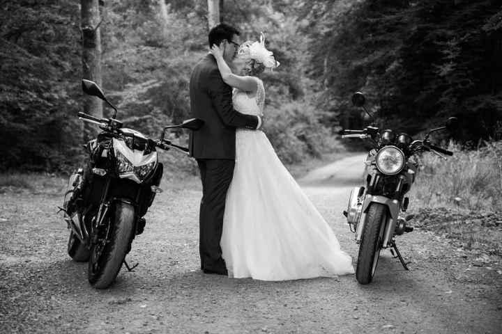Avec les motos