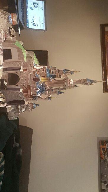 Un pari fou : confectionner la maquette du château disney - 2