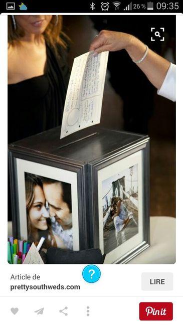 Mon cadre petit mot le livre d or et mon urne d coration forum - Mot livre d or mariage ...