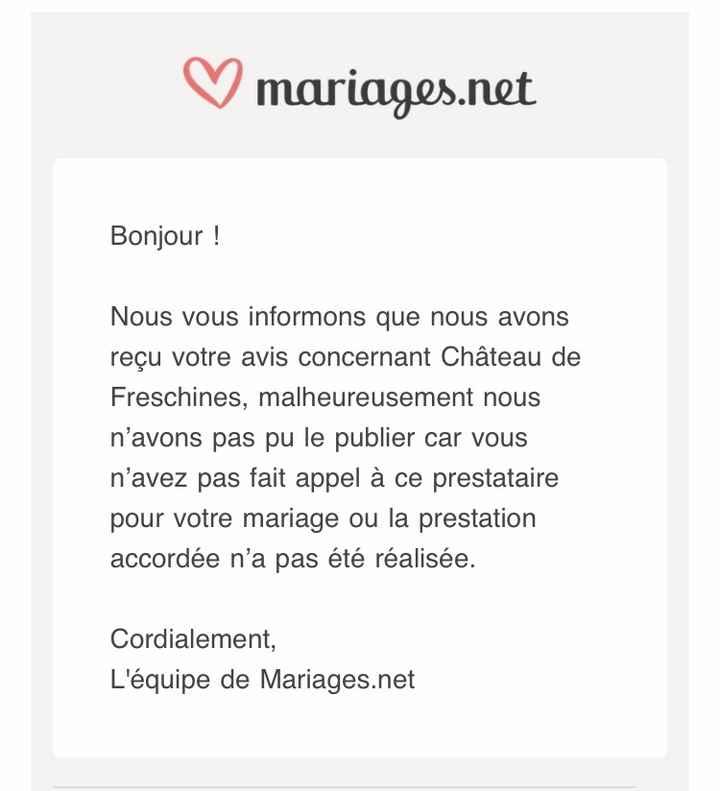 Mail mariage.net avis - 1