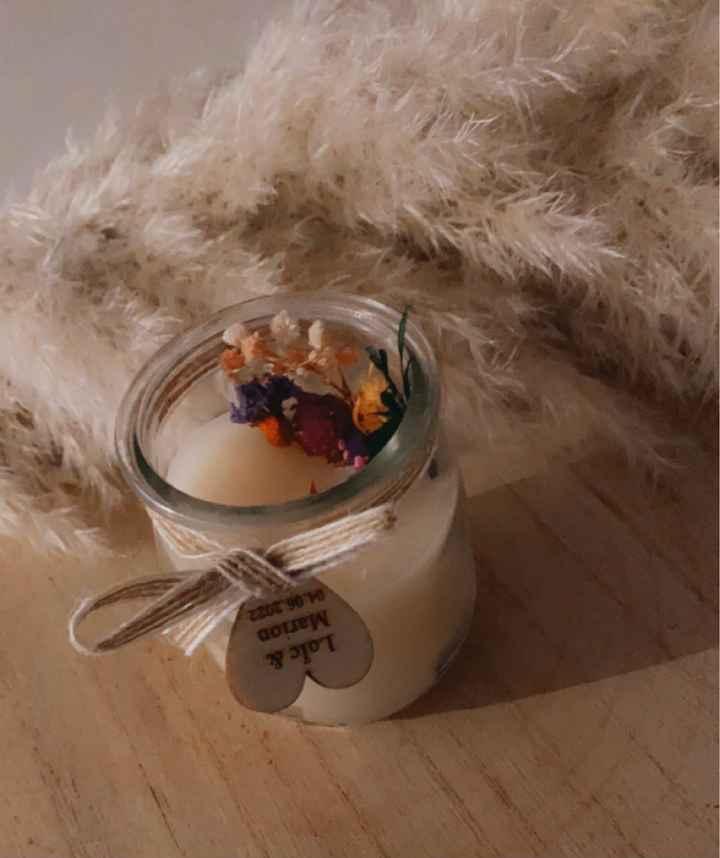 Bougies personnalisables - 2